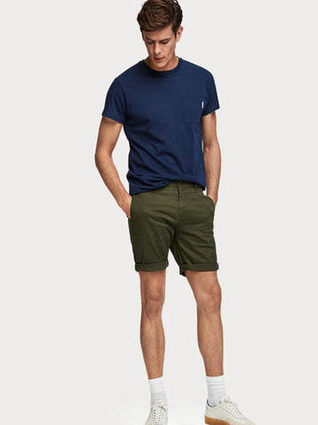 Scotch & Soda Stuart Shorts in Military