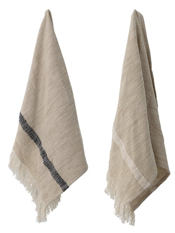 Bloomingville Tea Towel Set in Natural