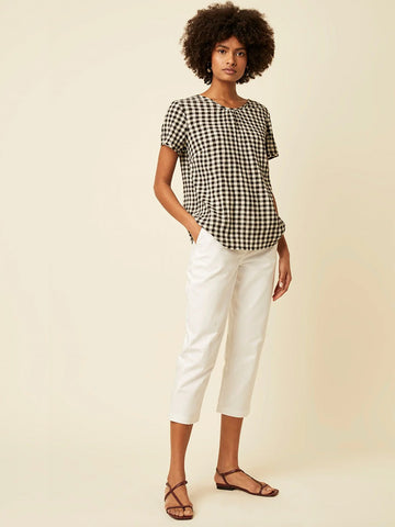 Great Plains Sorella Top in Black & White
