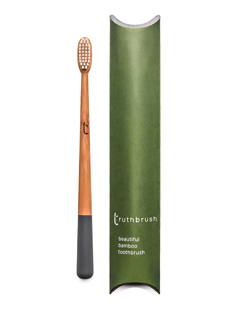 Bamboo Tooth Brush in Storm Grey