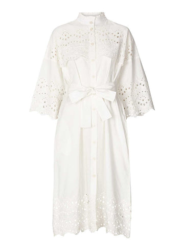 Lolly's Laundry Tumi Dress in White