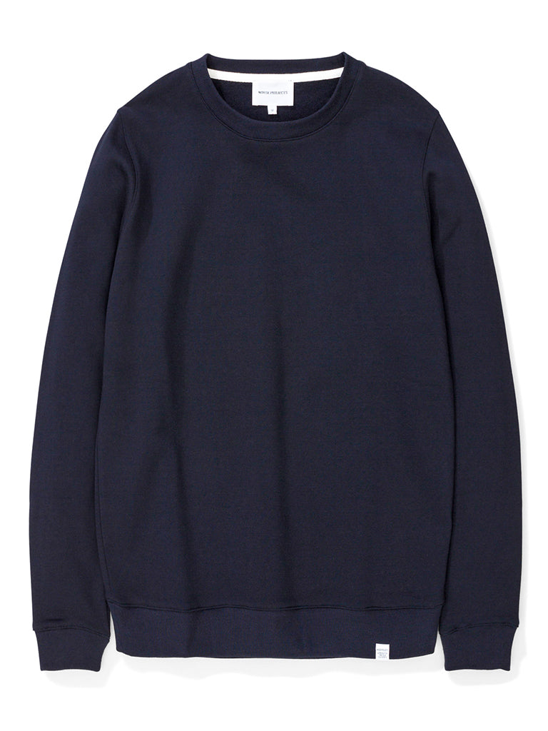 Norse Projects Vagn Sweater in Dark Navy