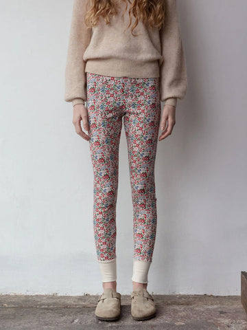 Sleepy Doe Women's Leggings in Winter Floral