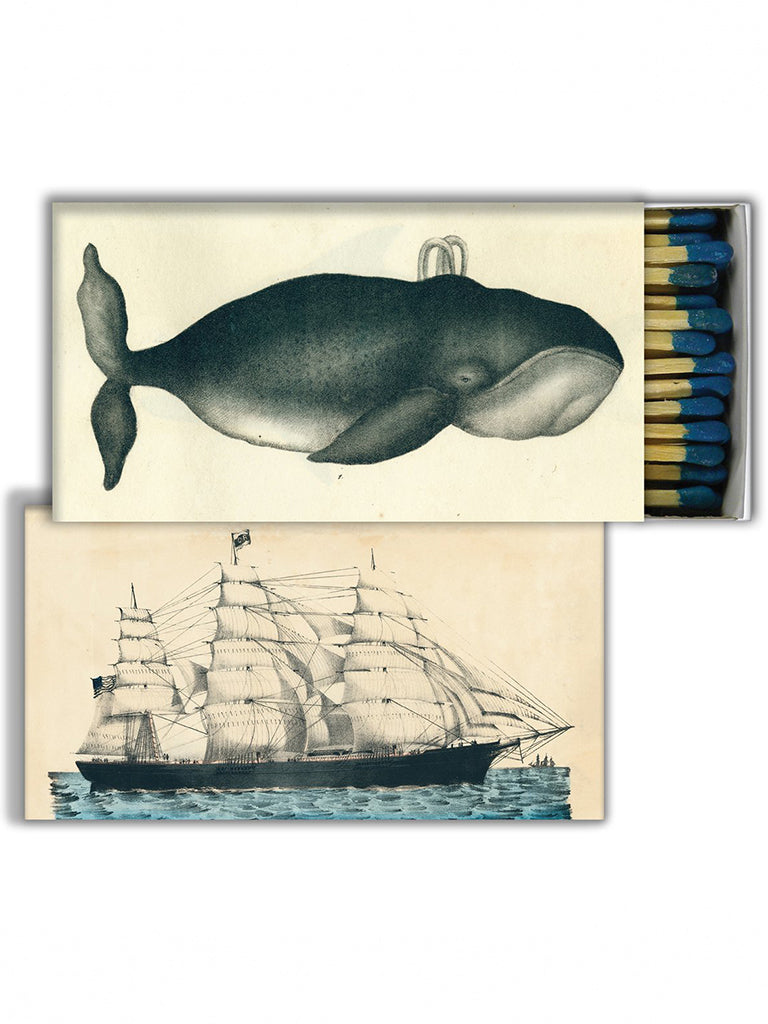 John Derian Whale and Clipper Matches
