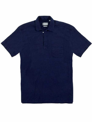 Oliver Spencer Yarmouth Shirt in Kildale Indigo Rinse
