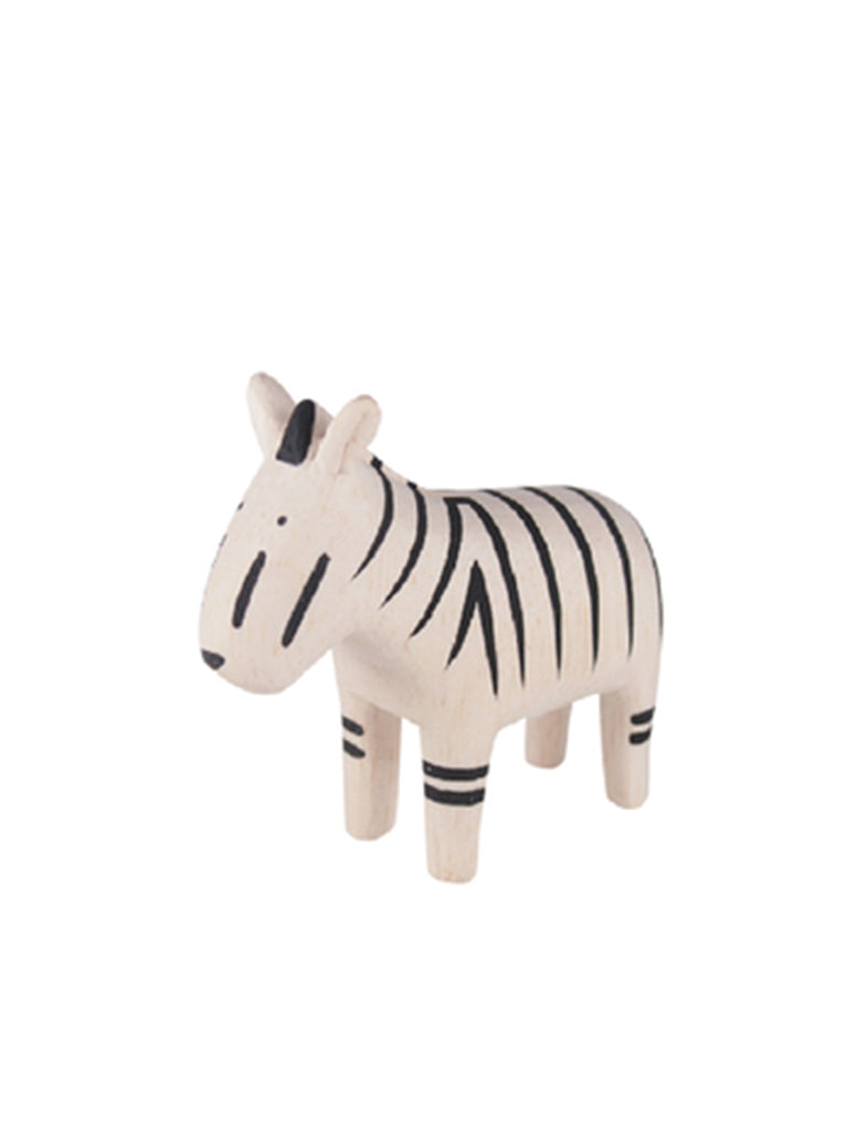 T-Lab Wooden Zebra