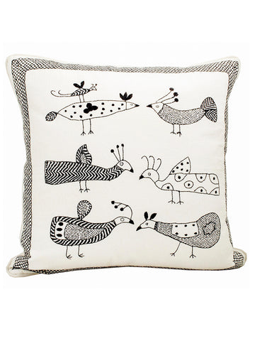Afro Art Birds Cushion & Cover