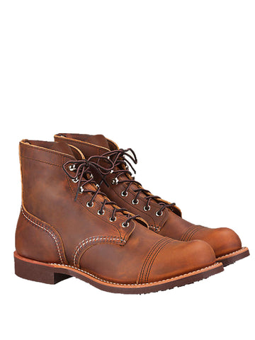 Redwing 8085 Iron Boot in Copper