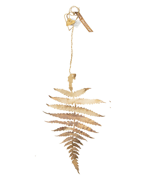 Walther & Co Fern Ornament in Medium