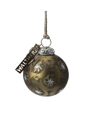 Walther & Co Glitter Bauble