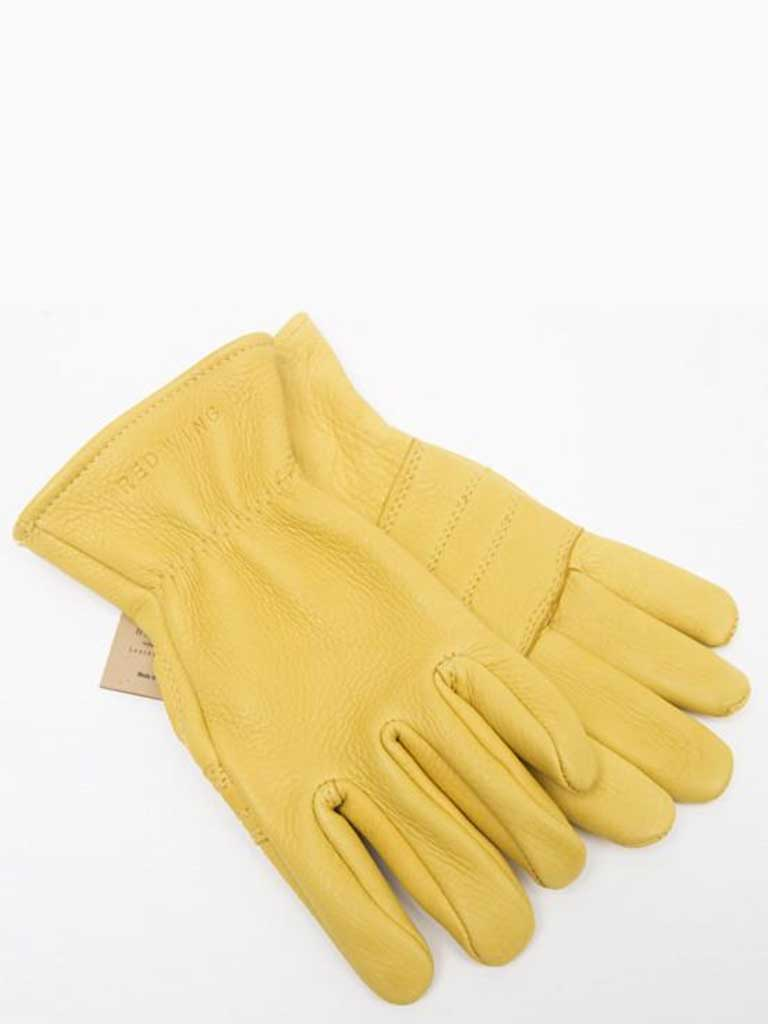 Redwing Lined Gloves in Yellow