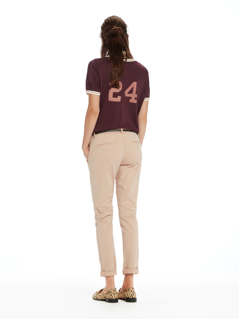Maison Scotch Chino in Pink