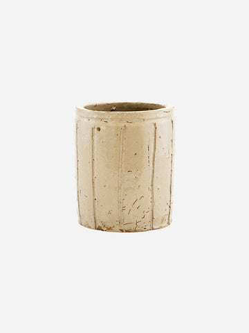 House Doctor Small Julian Planter in Beige