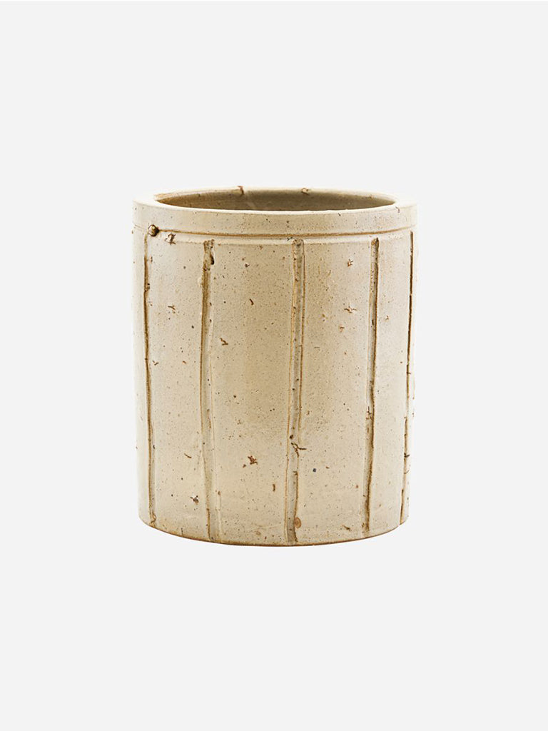 House Doctor Medium Julian Planter in Beige