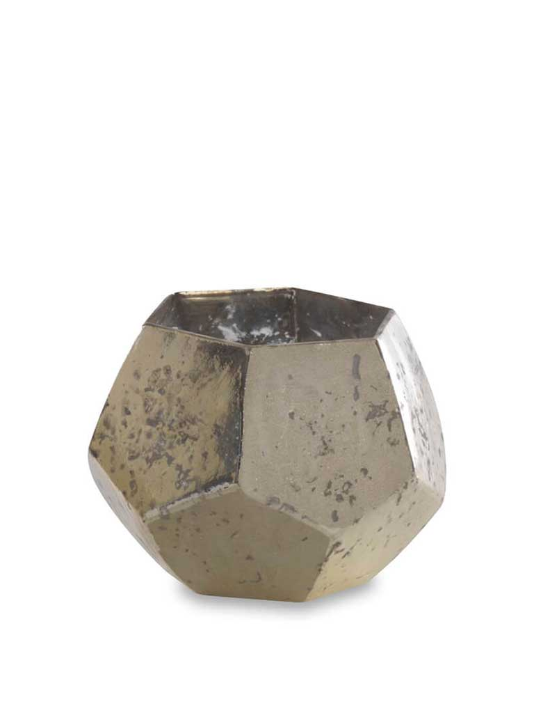 Nkuku Mirembe Small Hexagon in Silver