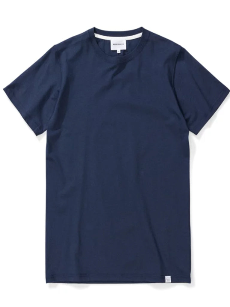 Norse Projects Niels Basic T-Shirt in Navy