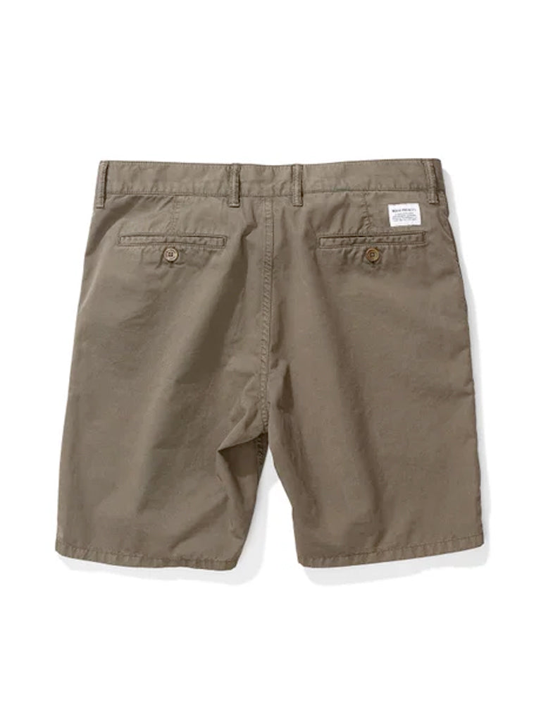Norse Projects Aros Light Twill Shorts in Ivy Green