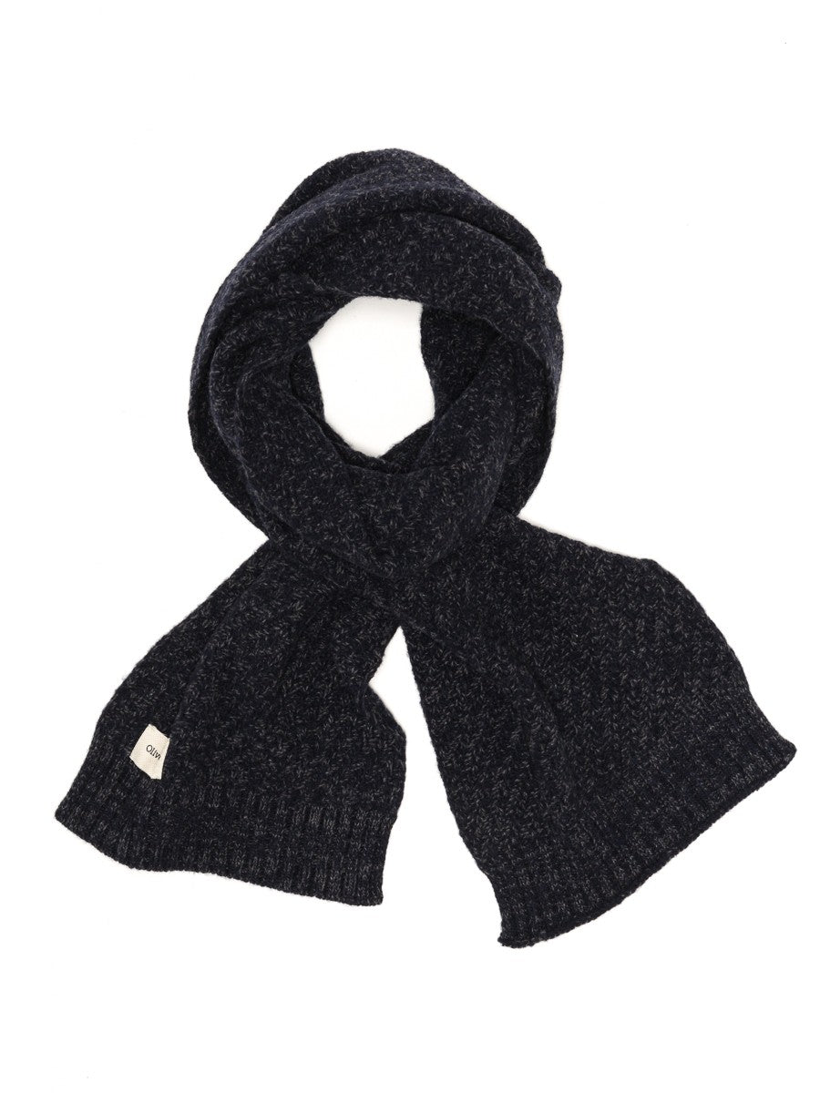 Oliver Spencer Arbury Scarf in Hereford Navy