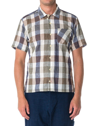 Oliver Spencer Hawaiian Check Shirt