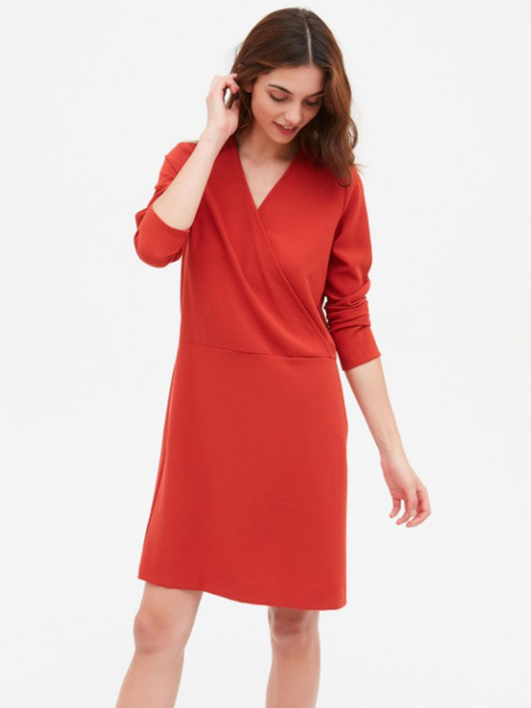 Hartford Regard Dress in Paprika