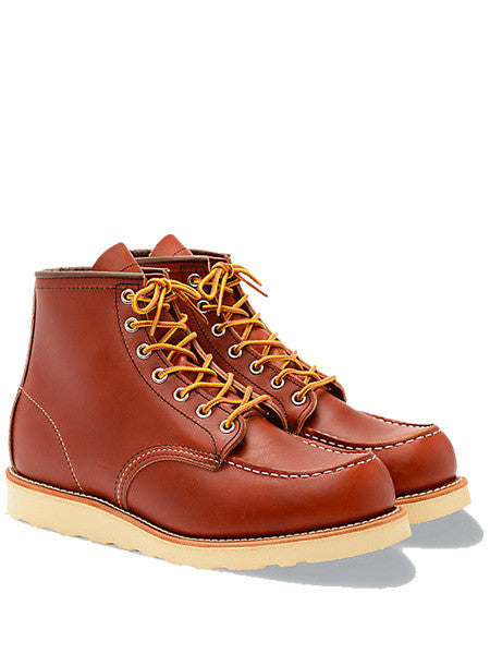 Redwing 8131 Moc Toe Russet Boot