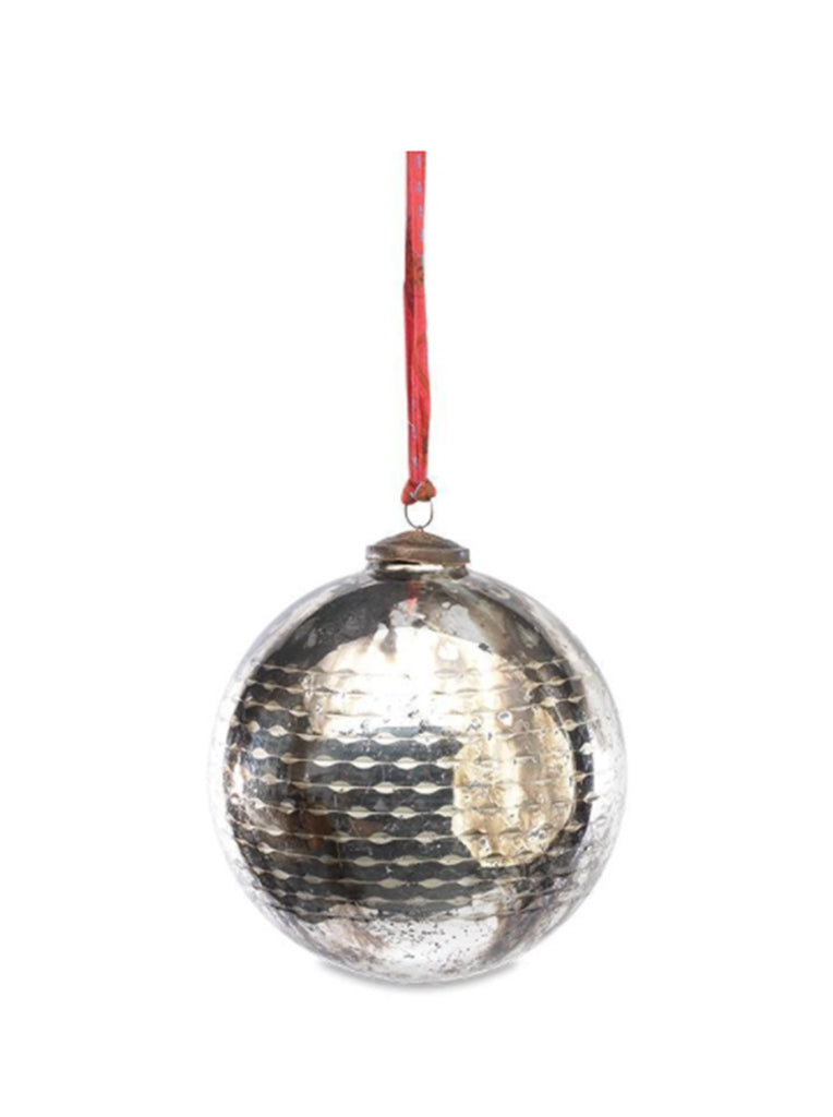 Nkuku Giant Tiko Bauble Large in Antique Smoke