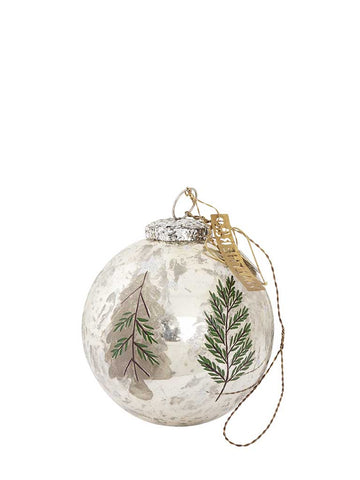 Walther & Co Tree Bauble in Silver