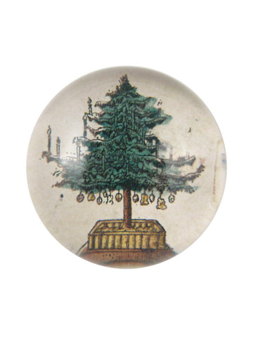 John Derian Holiday Tree Paperweight