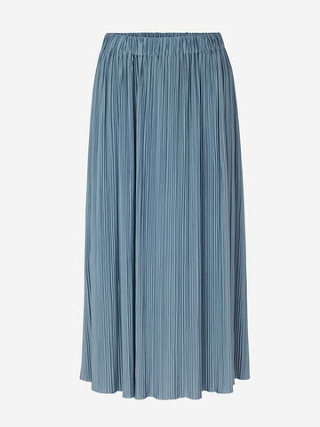 Samsoe Samsoe Uma Skirt in Blue Mirage