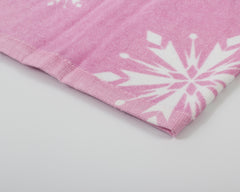 BEACH TOWEL – FROZEN PINK LOVE