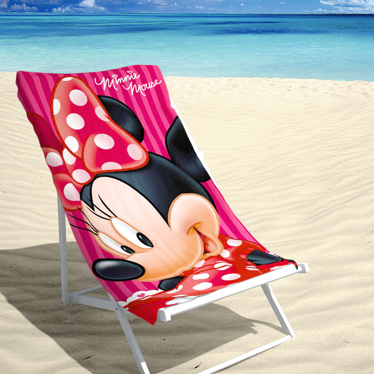 BEACH TOWEL – MINNIE SUMMER