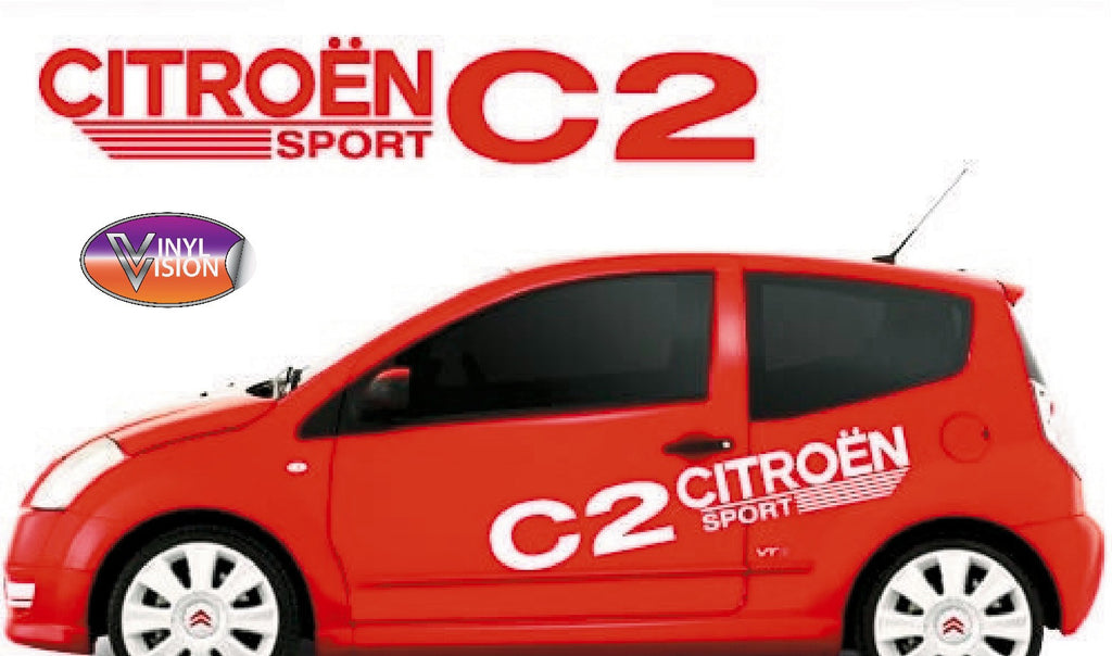 Citroen C2 Sport sticker kit. - Vinyl Vision