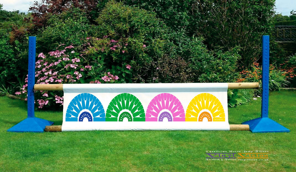 Arches Multi Coloured - Double Sided - Vinyl Vision
