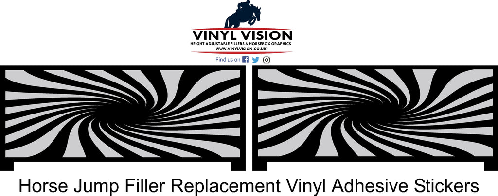 Swirls - Replacement Stickers - Vinyl Vision