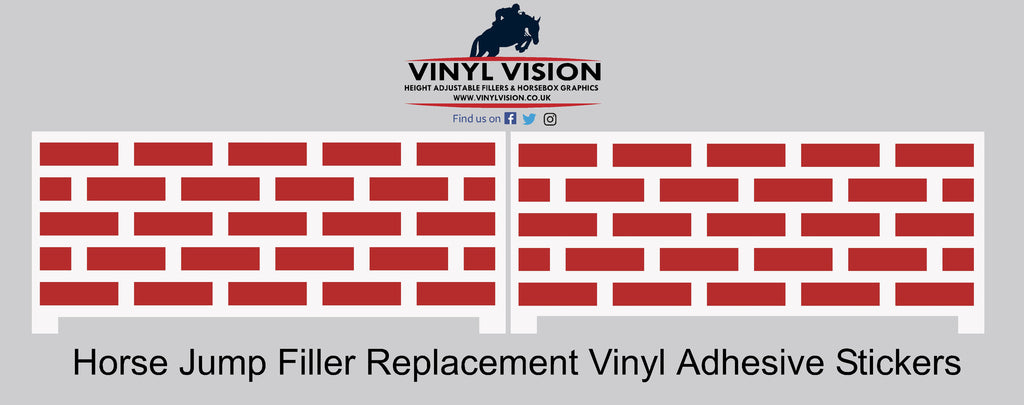 Wall (pair) - Replacement Stickers - Vinyl Vision