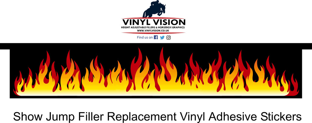 Fire - Filler Sticker - Vinyl Vision