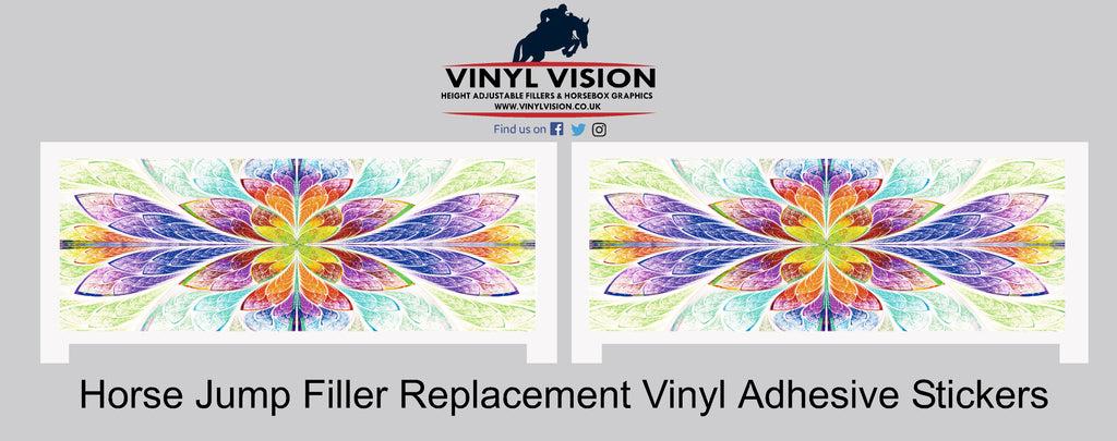 Leaf  (pair) - Replacement stickers - Vinyl Vision
