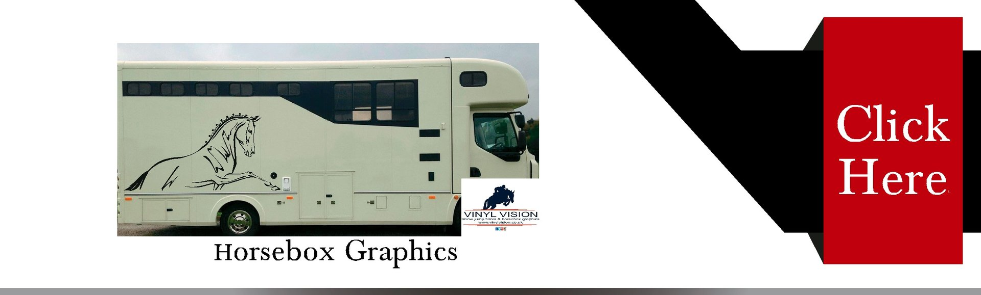 Horsebox vinyl stickers signs graphics for sale