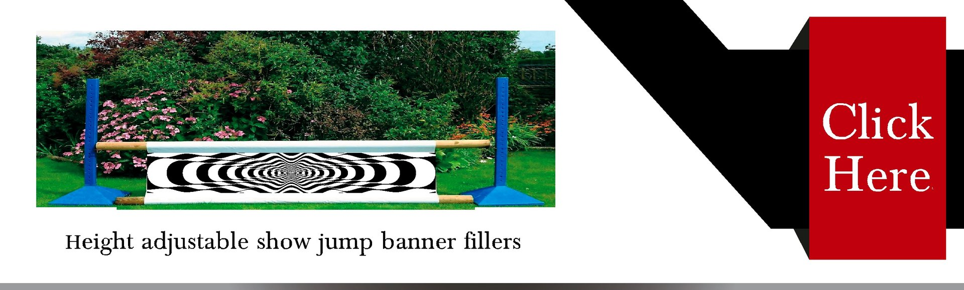 Vinyl Vision Show jump banner fillers for sale