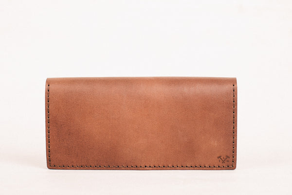 The Alongsider Wallet - Vintage Brown