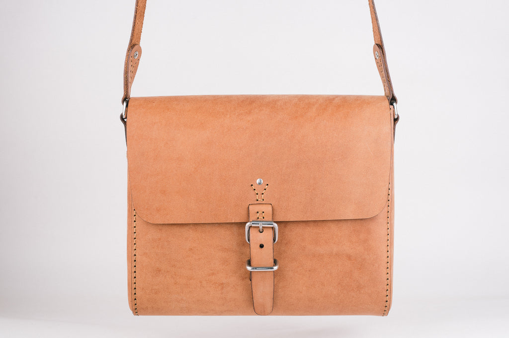The Companion Satchel - Tan