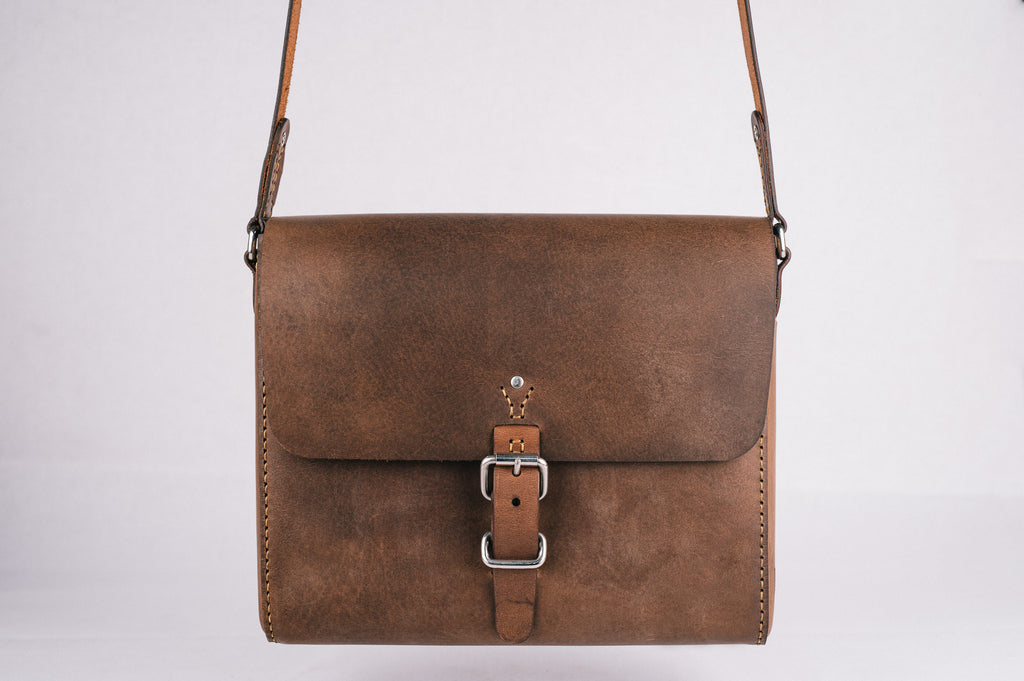 The Companion Satchel - Vintage Brown