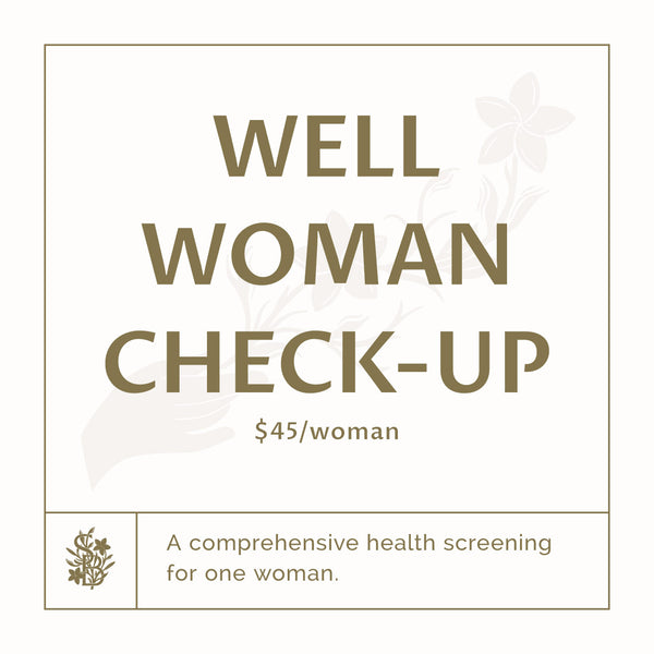 Well Woman Check up