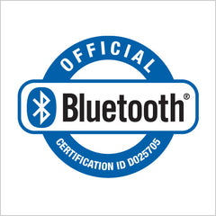 All Selfie World Bluetooth are officially certified by Bluetooth SIG