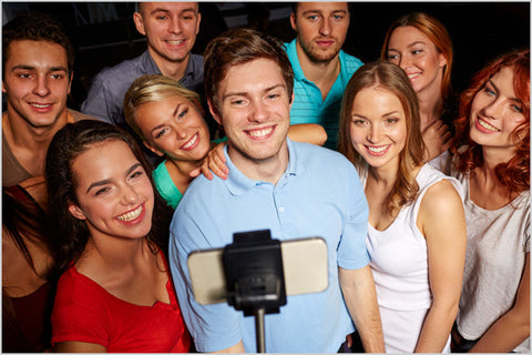 The selfie stick concept is simply ingenious
