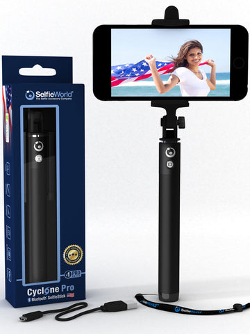 Cyclone Pro I - Consisently voted Selfie World's best selfie stick