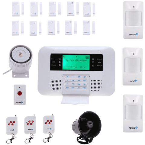 Fortress Security Store (TM) GSM-B Wireless Cellular GSM Home Security Alarm System Auto Dial System