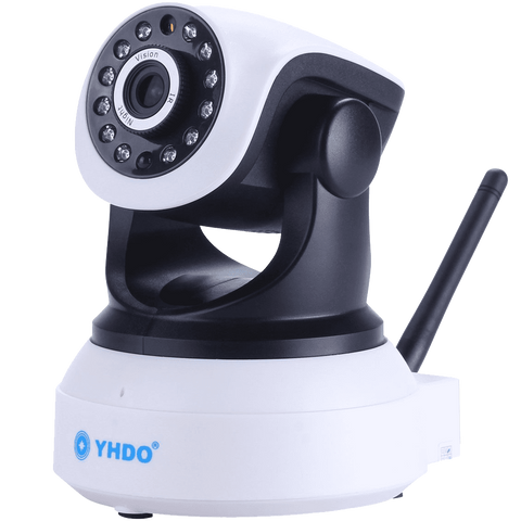 Security Camera YHDO Support Mobile View Motion Detecting Alert Wifi Connect HD 1280 X 720 Clear Image Quality Security Camera with Night Vision