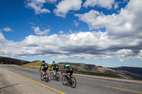 Mount Hotham Victoria Kings Men Charity cycling ride
