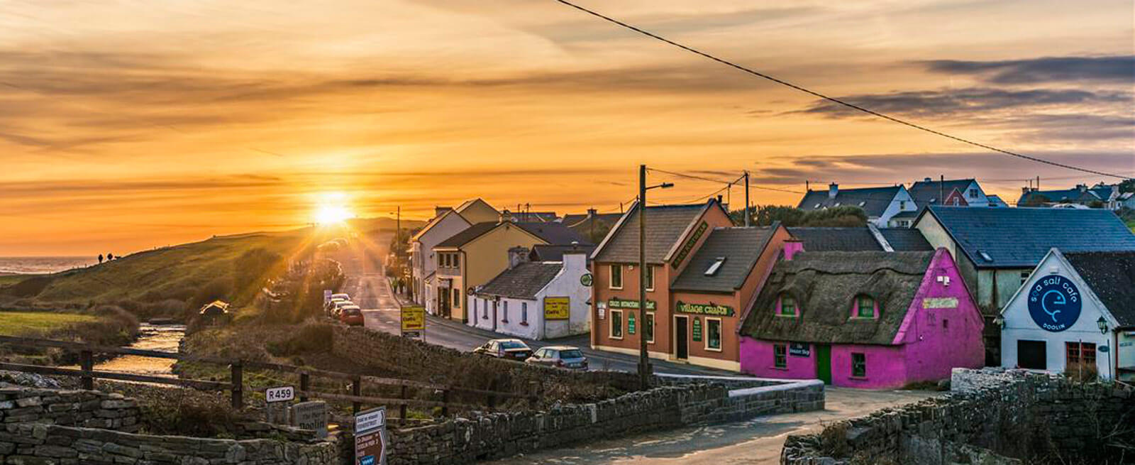Doolin - A beautiful Irish village in the heart of the Wild Atlantic Way